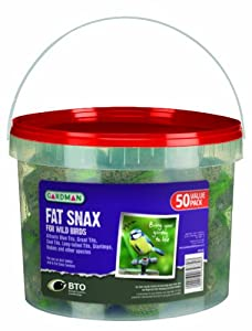 Gardman Fat Snax Tub (Value Pack of 50) by Gardman