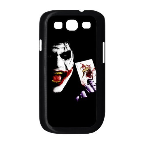 Hartschale für Samsung Galaxy S3 I9300, Motiv Batman The Joker Why so Serious mit Karte