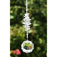 Sonnenfänger - handgearbeitet aus funkelnden Kristallen von Swarovski, Geschenk Hochzeit Einzug Jubiläum