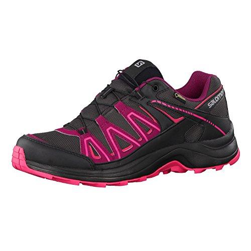 Salomon XA Centor GTX Trailrunning Shoes Women asphalt/black/hot pink Größe 42 2016 Laufschuhe (Pink-schuh-tasche Hot)