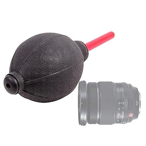 DURAGADGET Poire/soufflet de nettoyage antistatique pour objectif Nikon AF-S DX NIKKOR 200, 300, 400, 500 et 600mm - Garantie 2 ans