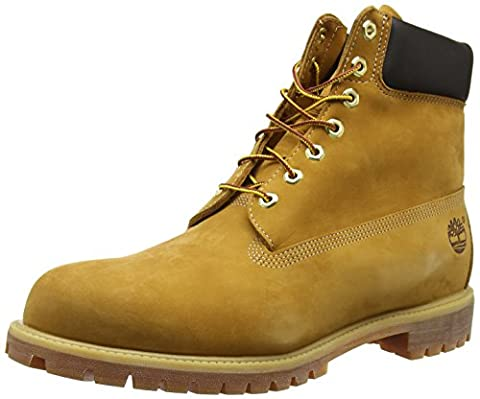 Timberland 6 Inches Premium, Men Cold Lining Ankle Boots, Yellow (Wheat Nubuck), 8.5 UK (43 EU)