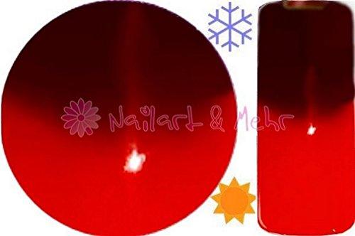 Deluxe thermique Gel UV 5 ml MPK # 103 Indira Rouge foncé - > Orange - Hot. - Change la couleur à la température Changement