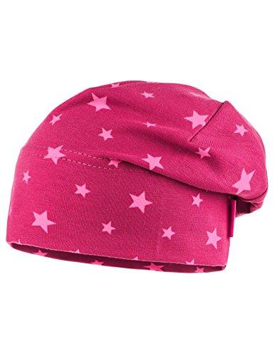 maximo-baby-madchen-mutze-beanie-short-mehrfarbig-rosenblute-zartrosa-sterne-17-47