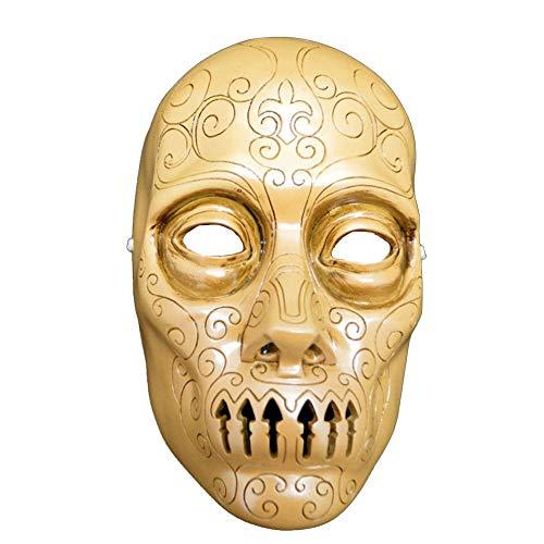 DYMAS Halloween Maske Harry Potter Film Todesser Maske Harz Dekoration