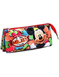 Karactermania Mickey Mouse Delicious Estuches, 24 cm, Rojo