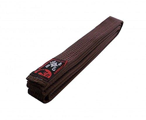 Karategürtel Judogürtel Taekwondogürtel braun