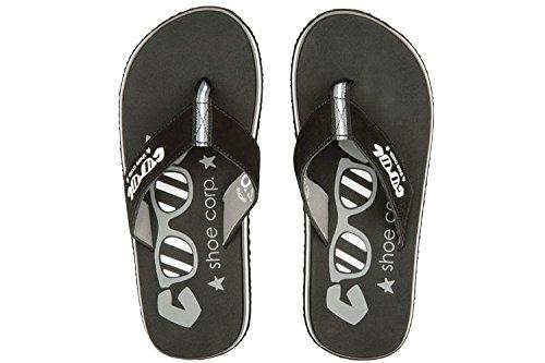 Cool Shoes, Herren Sandalen Schwarz