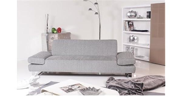Willi Schillig Modell 22070 Taboo 3er Sofa Stoff silbergrau: Amazon ...