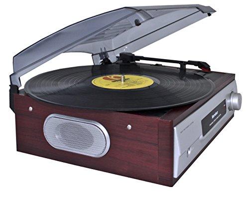Karcher KA 8050 Plattenspieler mit eingebauten Lautsprechern silber - 3