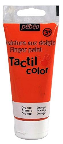 pebeo-633416-tacticolor-1-tube-gouache-aux-doigts-orange-80-ml