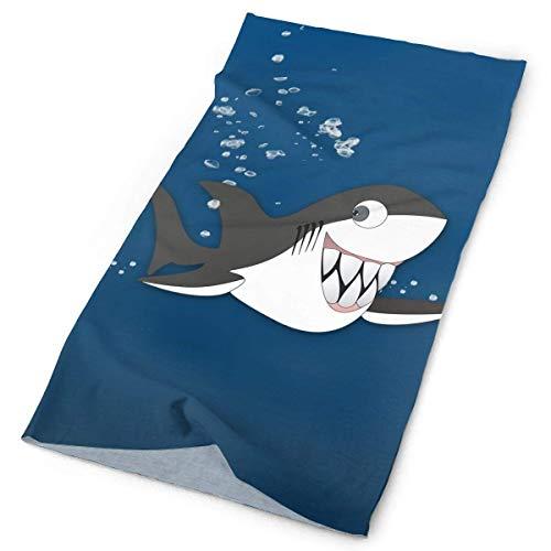 Tonesum Funny Shark Teeth Original Headband with Multi-Function Sports and Leisure Headwear UV Protection Sports Neck, Sweat-Absorbent Microfiber Running, Yoga, Hiking