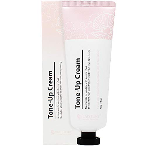 NAISTURE TONE UP CREAM, NIACINAMIDE FOR SKIN TONE WITH GLOWING EFFECT, 100G / 3.5 OZ - Retinol Vitamin A Facial Moisturizer