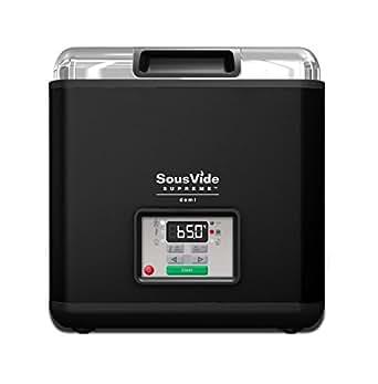 SousVide SVD-00101 Supreme Demi Water Oven, Black