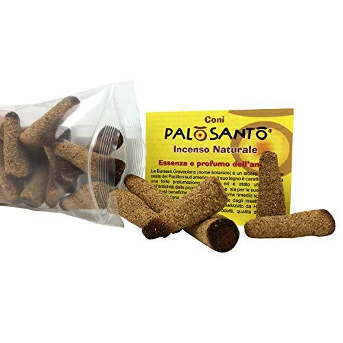 Palo Santo Amarillo Kegel - Natürlicher Palo Santo Weihrauch - 50 Kegel (Palo Weihrauch)