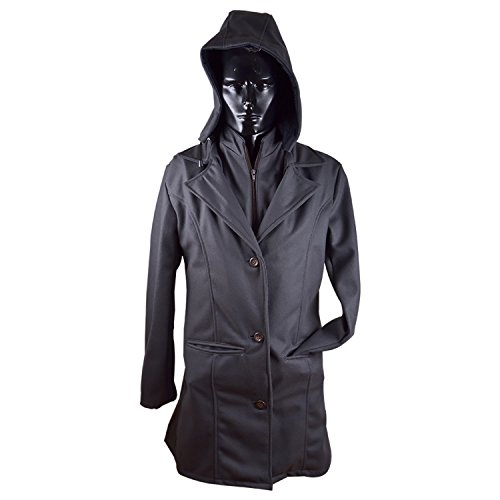 Unisex Multi-Purpose Trench Coat - Grey