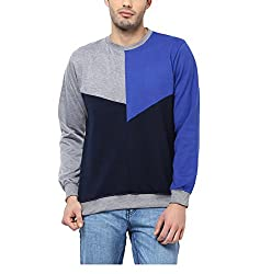 Yepme Camron Sweatshirt - Blue_YPMSWEAT0279_S