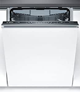 Bosch Serie 2 SMV25EX00E Fully built-in 13place settings A+ dishwasher - Dishwashers (Fully built-in, Full size (60 cm), Black, Buttons, 1.75 m, 1.65 m)