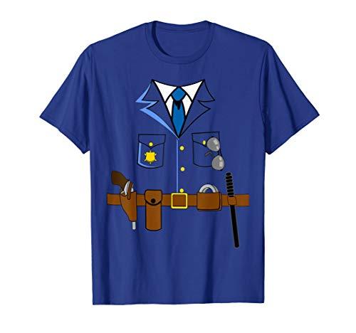 Kostüm Piraten Jugend - Polizei Faschingskostüm Shirt Karneval Anzug Polizeikostüm