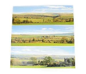 Gaugemaster GM702 Countryside Large Photo Backscene (2744x304mm)