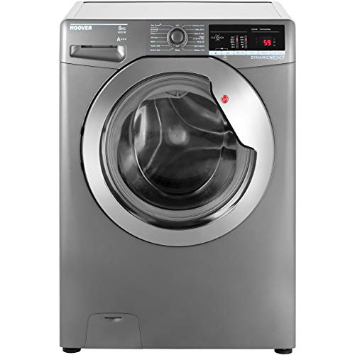 Hoover DXOA68C3R A+++ Rated Freestanding Washing Machine - Graphite