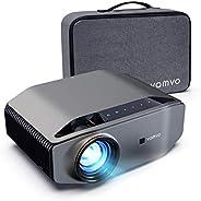 """Vamvo Proyector Nativo 1080p Full HD 6000 Lux con Dolby, Pantalla de Imagen Máx de 300 """"Ideal para Cine e"""