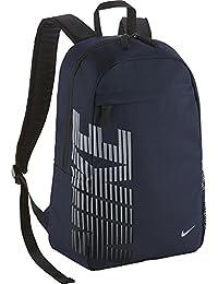 Nike Classic Sand - Mochila, color azul marino / gris / negro