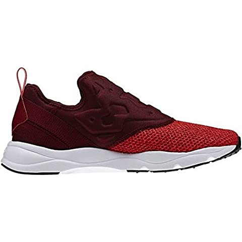 Reebok Furylite Slip-on Knit, V70816 Cherry/White, Sneaker Men