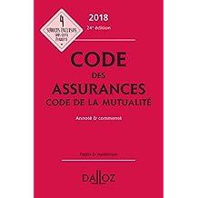 Code des assurances, code de la mutualité 2018, annoté et commenté - 24e éd.