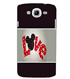 SAMSUNG GALAXY MEGA 5.8 LOVE Back Cover by PRINTSWAG