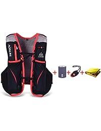 lixada 5L Deportes Mochila/–Vest Pack para 1.5L Water Bag Ciclismo Senderismo Bag al Aire Libre Deportes (L-XL)
