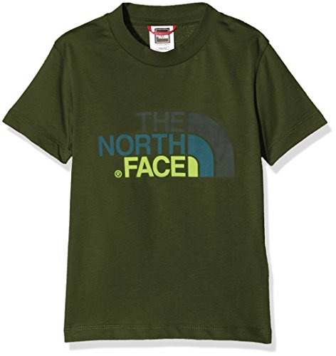 the-north-face-youth-easy-t-shirt-manches-courtes-homme-vert-terrarium-green-fr-xxs-taille-fabricant