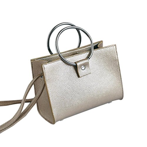 Messenger Bag, Nuova Moda Donna Spalla Borse Donna Messenger Bag Crossbody Borse by Kangrunmy Oro