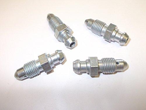 4 X liquide de freins Vis mamelons 1/4 UNF x 28tpi Mini Ford voitures Vans camions