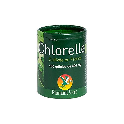 Flamant Vert - Chlorelle 400Mg 180 Gélules - Vendu Par Pièce - Livraison Gratuite En France