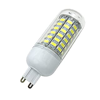 Aoxdi 1X G9 LED Light Bulbs 10W, Cool White, 69 SMD 5730 G9 LED Corn Bulb Lamp, AC 220-240V