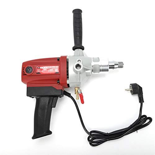 YIYIBY 130mm Bohrmaschinen mit Pistolengriff Diamant Kernbohrer Maschine Kernbohrgerät Betonbohren Werkzeug 2000 U/min 1600 Watt 220 Volt