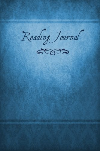 Reading Journal: The Book-Lover's Diary, 6x9, blue