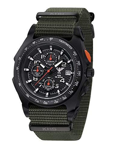 Orologio da uomo Sentinel AC con cinturino Natoband Oliv KHS.SEACB.NO