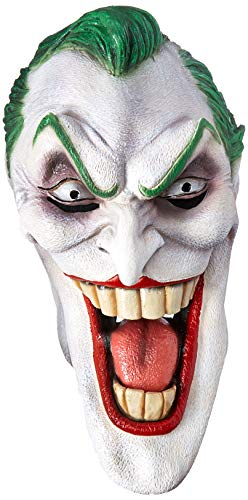 Joker Latexmaske Batman Maske Kostüm Zubehör Latex Voll Maske Clown Erwachsene - Clown-kostüm Erwachsene
