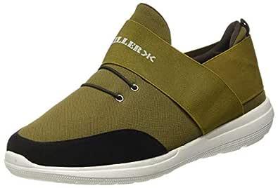 KILLER Men's Olive/Black Sneakers-6 UK/India (40 EU) (KLMF-1113)