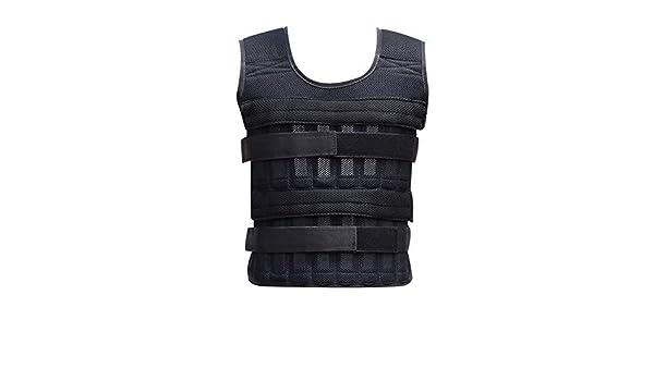 Harwls 20kg Weighted Vest Adjustable Loading Weight Jacket Exercise Weightloading Vest Boxing Training Waistcoat