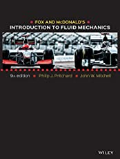 Fox and McDonald′s Introduction to Fluid Mechanics