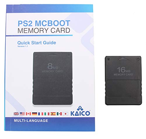 McBoot FMCB 1.966 16MB Speicherkarte für Sony Playstation 2 PS2