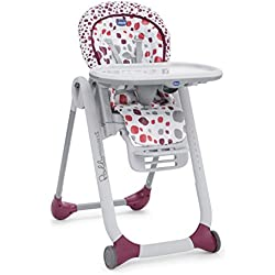 Chicco - Polly Progres 5 - Chaise Haute - Cherry