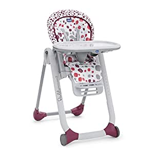 Chicco Polly Progres5 Highchair Cherry