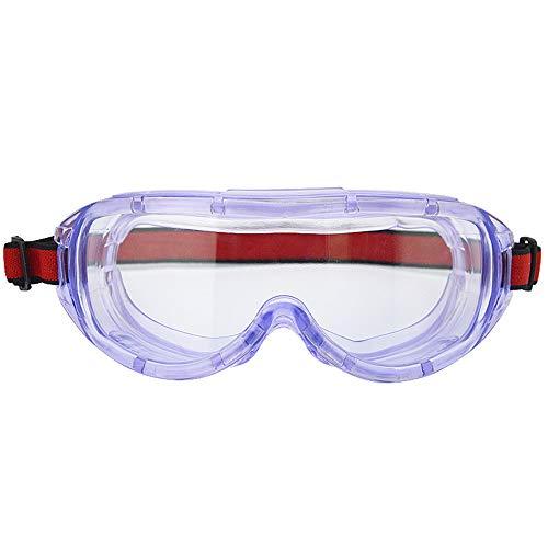 Fesjoy Protective Eyewear, Schutzbrille Anti Fog Lens Transparente Brillen Schutzbrille für die chemische Industrie Schutzausrüstung Brillenschutz