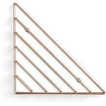 Umbra 1004460–880rasguear estante de pared, metal, cobre