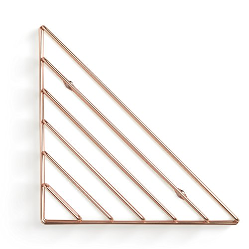Umbra 1004460-880 Strum Wall Shelf, Metal, Copper