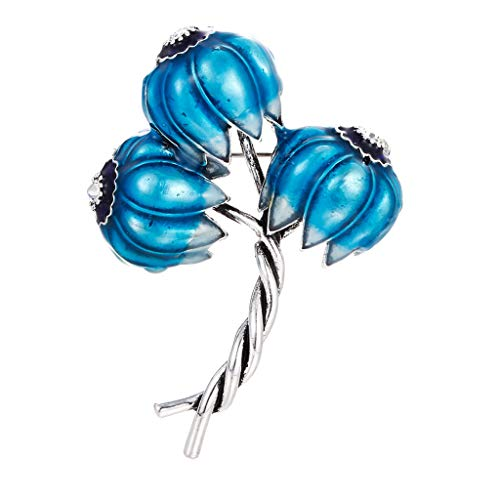 Hair Pins Decorative Handmade Artificial Hair Barrettes Hair Pins Hair Clips Hair Accessories,Klassische spezielle Blumen Emaille Broschen Metall Pflanzen Hochzeiten Party Brosche Pins